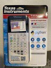 Texas Instruments TI-83 Premium CE Edition Python – Calculatrice graphique –...