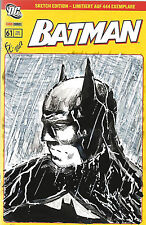 Batman #61 Sketch Edition February 2012 Panini Comics Germany VF