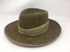 Vintage John Bardsley And Sons Wool Hat Made In Australia Size 7 1/4
