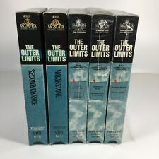 Lot of 5 THE OUTER LIMITS VHS Horror 8 Episodes Some Collectors Editions