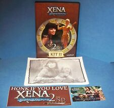 The Official Xena Warrior Princess Fan Club Kit 11 DVD Rare DVD Excellent