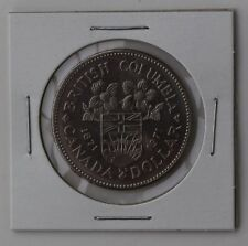 1971 Canada $1 One Dollar Coin British Columbia Unknown Circulation