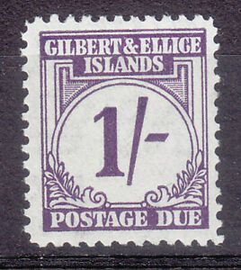 Gilbert & Ellice 1940 Postage Due SG D7 MNH Nice Condition