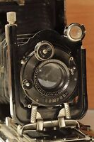 Rare Fotokor I Compur Vintage Camera Ihagee Anastigmat Trioplan Meyer Gorlitz