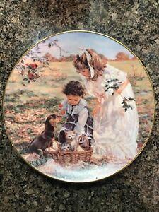 "Reco Collectors Plate ""Delightful Bundle"" by Sandra Kuck"