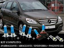 MERCEDES CLASSE B W245 SET COMPLETO LAMPADE BLU XENON + POSIZIONE A LED