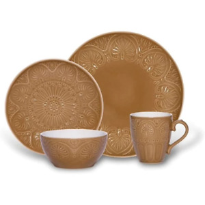 Pfaltzgraff Dolce Tan 4 Pc Place Setting, Service for 1