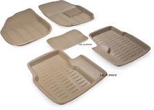 Beige Colour-3D Car Floor Mat/Folded Mats Perfect Fit-Volkswagen Vento