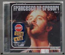 FRANCESCO DE GREGORI IL MONDO DI VOL.1 LINEATRE CD SIGILLATO!!!