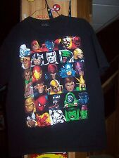 Marvel Group Shirt T-Shirt Boy's Size Large Save On Shipping