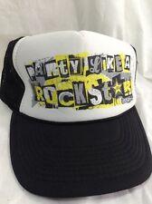 Rockstar Energy Snapback Hat Party Like A Rockstar Trucker Cap