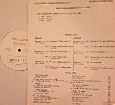 RADIO SHOW: DICK CLARK GOLD #12 'LITTLE' LITTLE RICHARD, LITTLE ANTHONY,ELEGANTS