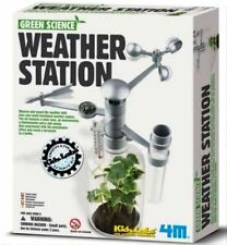 Green Science 4M Weather Station Thermometer Anemometer Rain