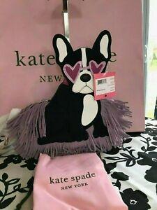 KATE SPADE Francois Crossbody Boston Terrier pxrua686 $348