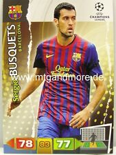 Adrenalyn XL Champions League 11/12 - Sergio Busquets