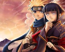 Naruto and Hinata Anime Manga Wall Poster and Decor 16x20 inches