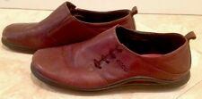 ECCO Brown Soft Leather Comfort Ergo Walking Shoes Men's Sz 42 EU Nice!