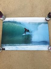 New Wsl Mick Fanning Triple Crown Of Surfing Rare Athlete Poster