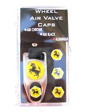Ferrari Aluminum Valve Caps Gift Set With Tool