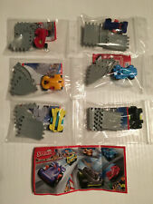 RACING CARS COMPLETE SET OF 6 WITH ALL PAPERS KINDER SURPRISE 2016