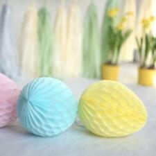 Honeycomb easter egg decoration - custom color - 25cm
