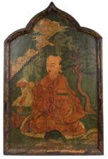 Tibet 18./19. Jh. Große Malerei - A Large Tibetan Painting - Peinture Tibétaine
