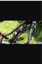 Fischer e Mountainbike EM 1608 schwarzmatt, rote Details, 26 kmh,  gepflegt