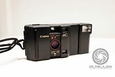 Canon MC 35mm Compact Film Camera with flash lomo retro