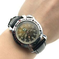 Vostok Dolphin Youngster Soviet Analog Watch USSR Small Rare Waterproof SERVICED