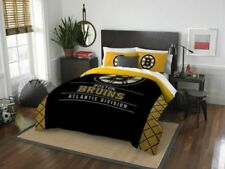 NHL Boston Bruins Full / Queen Comforter & Shams, NEW!