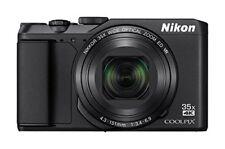 F/S Nikon COOLPIX A900BK 20MP Wi-Fi 35x Optical Zoom 4K Digital Camera Japan