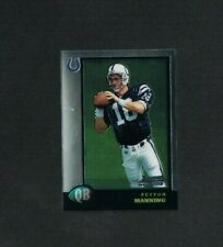 1998 BOWMAN CHROME PEYTON MANNING PREVIEW ROOKIE RC CARD #BCP1 COLTS NM-MT