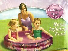 Inflatable Kiddie Pool 2 Ring Disney Princesses Age 3+ Nip