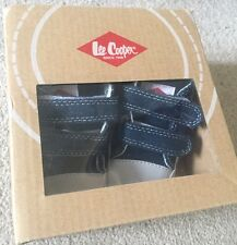 Lee Cooper Baby Denim Crib Shoes Brand New Boxed