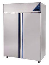 Gewerbe Tiefkühlschrank ECC1400BT mit 1400 Liter Edelstahl Umluft GN2/1