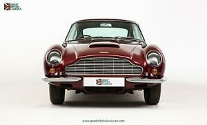 ASTON MARTIN DB6 // FULLY RESTORED // EARLY SUPERLEGGERA BADGED CAR