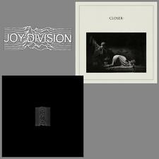 Joy Division Album Bundle - Unknown Pleasures / Closer - 2 x 180g Vinyl LP *NEW*