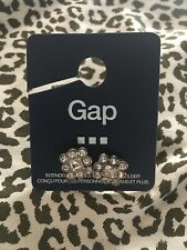 NWT Gap Earrings CZ Silver Stud