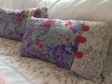 Handmade Floral Rectangular Decorative Cushions