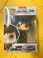 Funko Pop! Avatar Zuko Box Lunch Exclusive Glow In The Dark! #838 In Hand