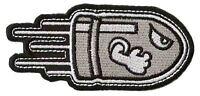 Ecusson patche balle bullet patch décoratif pour vêtements thermocollant