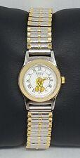 Vintage Ladies Armitron 1996 Warner Bros Two Tone Quartz Watch 2200/283-4 A5