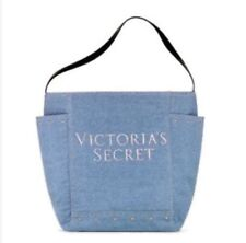 VICTORIA'S SECRET DENIM SHOULDER BAG TOTE