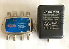 Eagle Aspen 3x4 Multiswitch & Power Adaptor Brand new