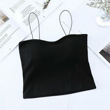 Women Sexy Sleeveless Vest Blouse Casual Tank Tops Summer Crop Shirt Cami Tops&