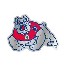 """FRESNO STATE BULLDOGS AUTO BADGE CAR DECAL EMBLEM 3""""×5"""" NEW FREE SHIPPING"""