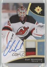 2015 Upper Deck Ultimate Collection Spectrum Gold /25 Cory Schneider Patch Auto