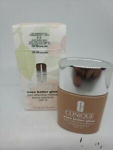Clinique Even Better Glow Light Reflecting Makeup SPF15 (CN 58 Honey) 1 oz *read