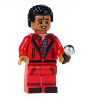 Michael Jackson, Musical Famous Pop Singer, Brand New Lego Moc Minifigure