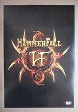HAMMERFALL poster format environ 37 x 54 cm